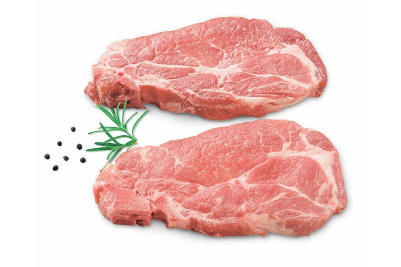 Capocollo di maiale con osso